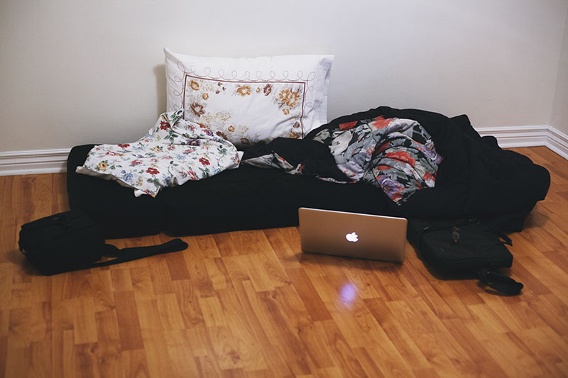 We Camped Out On The Living Room Floor