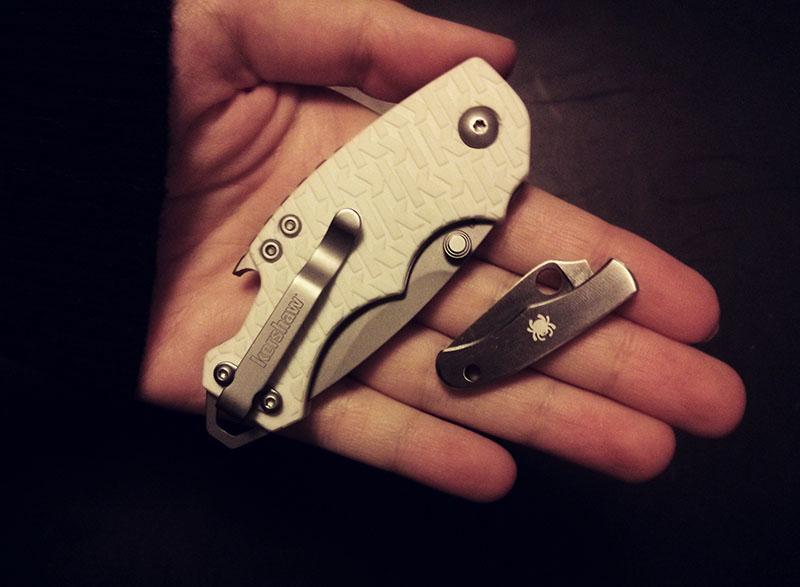 spyderco-bug-and-kershaw-shuffle-new-knives-elise-xavier