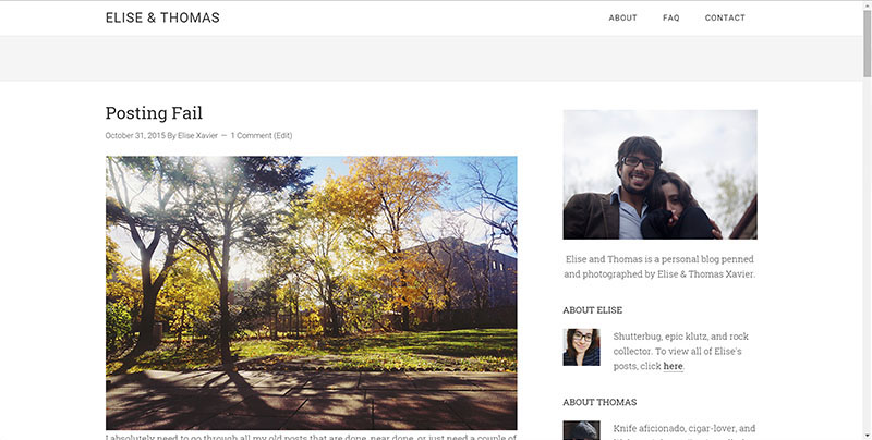 old-layout-elise-and-thomas-blog-homepage